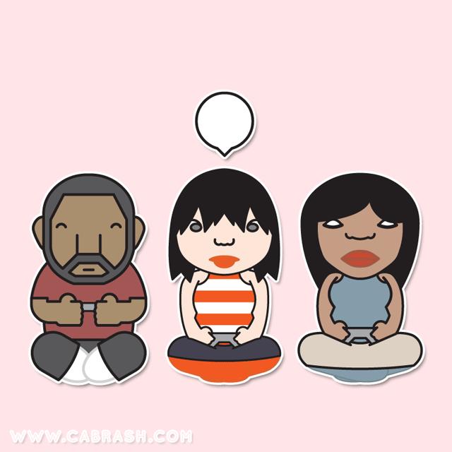 Benyamin, Ayana & Sandra